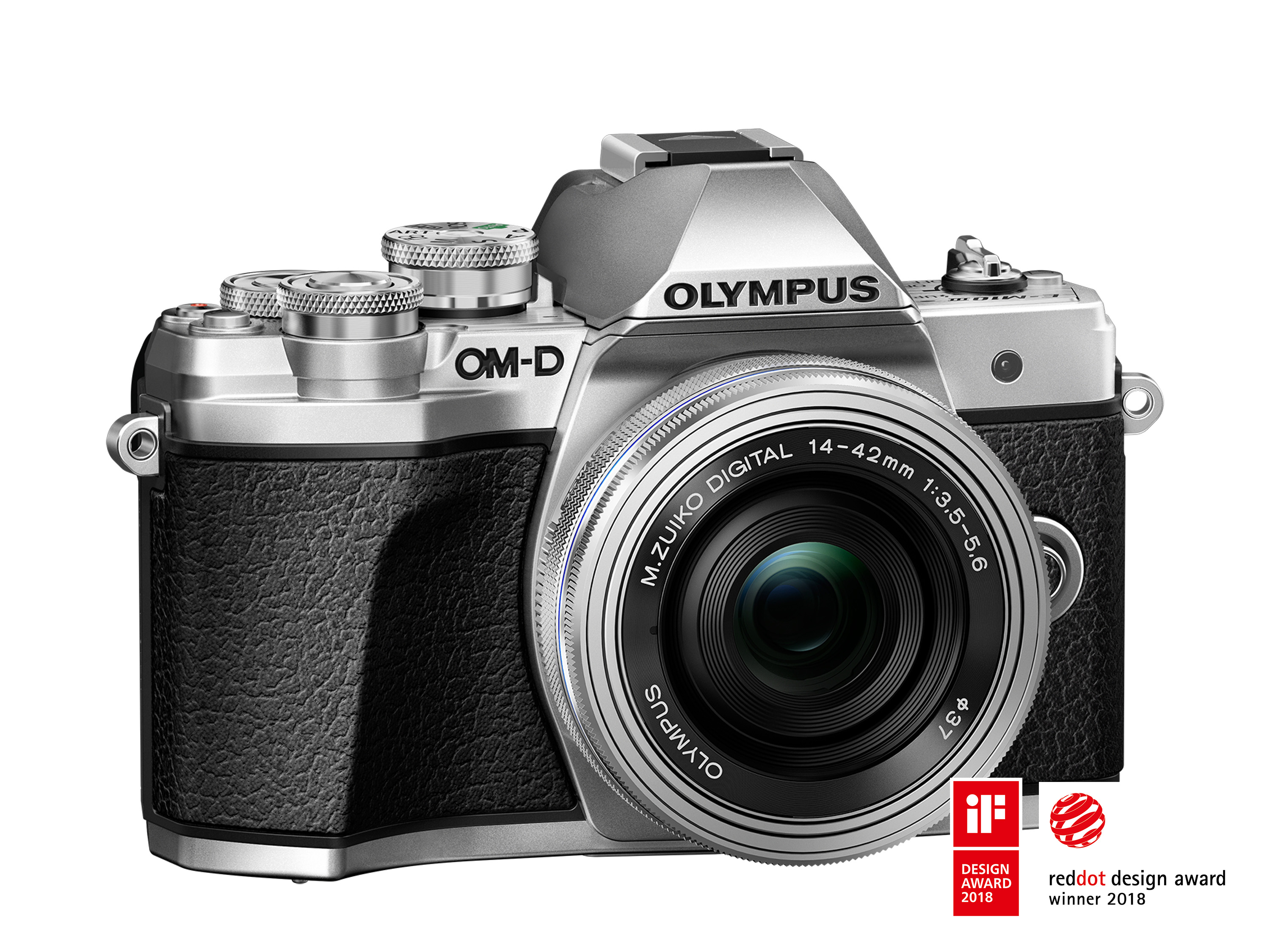 iF and Red Dot recognize OM-D E-M10 Mark III for its
