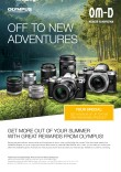 Get more out of your summer with reward offers on selected OM-D cameras and M.ZUIKO DIGITAL lenses