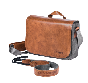 OM‑D Messenger Leather Bag, Olympus, System Cameras , PEN & OM-D Accessories